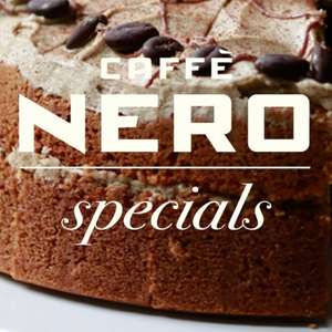 Any Barista made drink (hot or iced) and Cake for £5 when you purchase via the app @ Caffe Nero Store