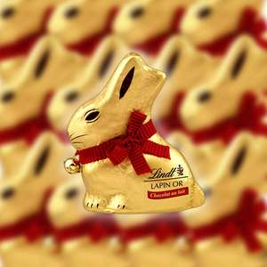 32 Lindt Gold Bunny 50g Milk Chocolates (BBE August 2021) - £15 delivered at Yankee Bundles