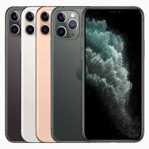 Refurbished Apple iPhone 11 Pro Max - Various Grades from Good / 64GB from £492.29 delivered using code @ ebay / Music Magpie