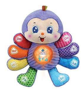 VTech Baby Musical Toy Cuddle Bug Educational Toy (6M-3Y) - £10.05 (+£4.49 Non Prime) at Amazon