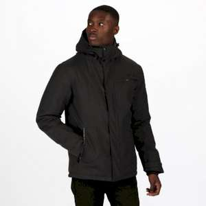 Men's Volter Shield II waterproof insulated heated hooded walking jacket in ash for £49.91 delivered using code @ Regatta