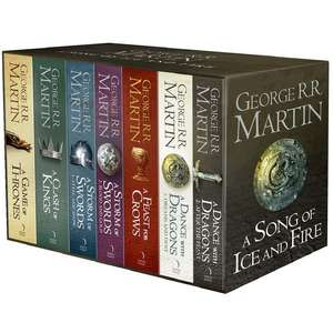 Game of Thrones complete set. £15 INSTORE @ Theworks. Was £30. RRP £65 (Spotted Wood Green)