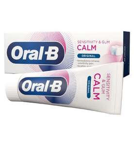 50% Off any Oral-B Sensitivity & Gum Calm Toothpaste with code at Boots