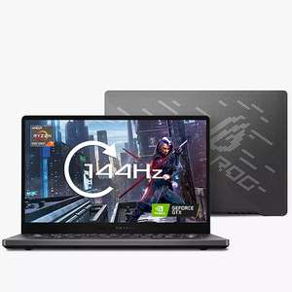 "ASUS ROG Zephyrus G14 GA401QM Gaming Laptop AMD Ryzen7 16GB RAM, 1TB SSD, GeForce RTX 3060, 14"" Full HD £1299.99 John Lewis & Partners"