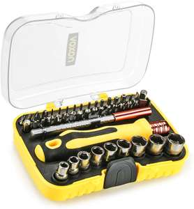 VOXON 47 Piece Magnetic Screwdriver Set Precision Screwdriver Accessory Kit with Adjustable Pole-£5.99 prime /+£4.49 NP sold by Bluetree FBA