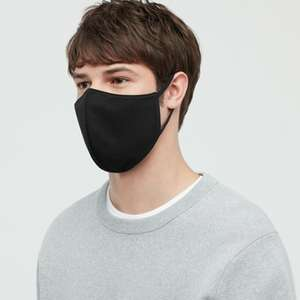 Free Uniqlo AIRism Face Mask (Pack of 3) with any purchase through Uniqlo App
