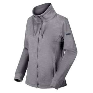 Women's Olena Full Zip Snood Collar Fleece Rock Grey now £16.95 with code (+ £3.95 delivery) @ Regatta