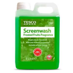 5L Screenwash - Frosted Fruit £2.25 @ Tesco (Winchester)