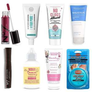 £5 Friday Offers - Includes No7 Mascara, No7 Liquid Lips, Soap & Glory Self Heating Face Mask & more + Free click & collect on £15 @ Boots