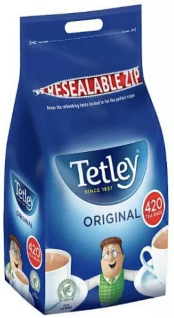 Tetley Original Tea Bags 420 pack - £5 @ Asda