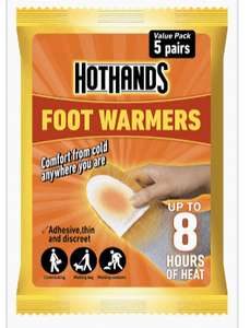 Hot hands foot warmers - 20p instore @ Tesco Garage (Dorchester)