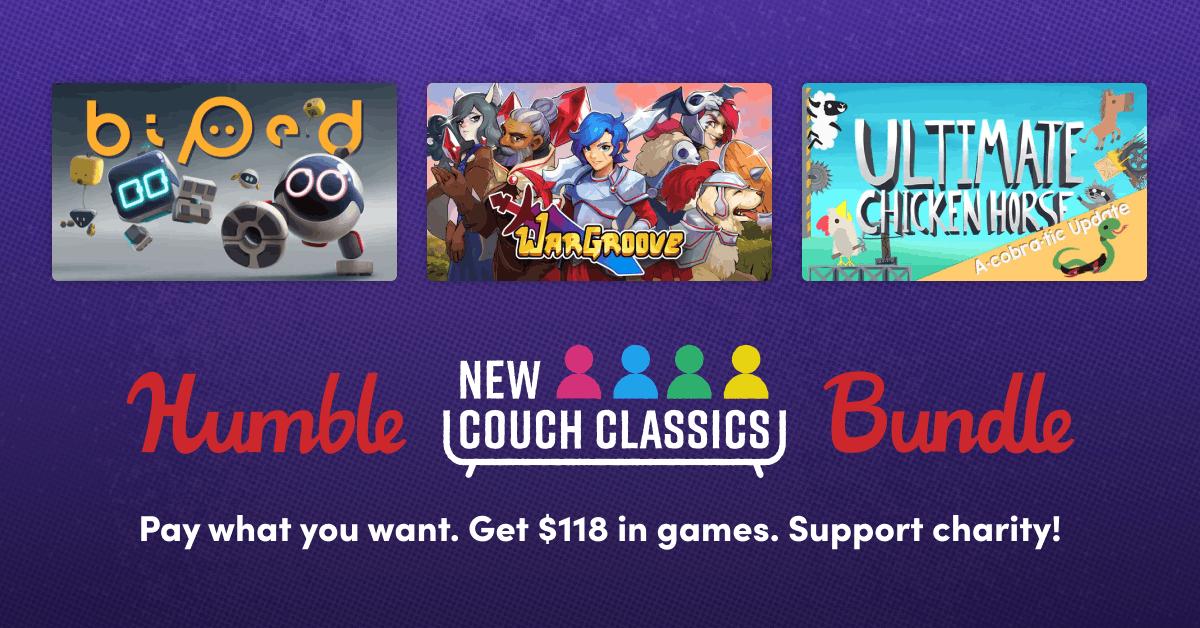 Couch Classics Bundle PC (Tier 1 - door kickers action squad) - 72p @ Humble Bundle