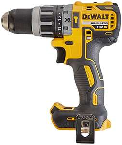 Dewalt DCD796N 18v XR Li-Ion Brushless Compact Combi Hammer drill (Bare unit) - (occasionally dips to £62.70 for a few hours) £66 @ Amazon