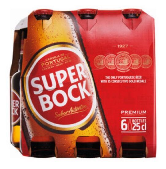 Super Bock 6 25cl 5.2% bottles - £3.99 @ LIDL