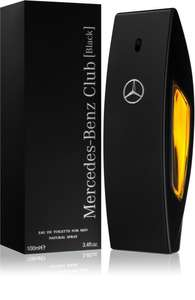 Mercedes-Benz Club Black 100ml EDT £26.90 + £3.99 delivery @ Notino