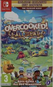 OVERCOOKED - All you can eat for Nintendo Switch £25.85 at Base.com