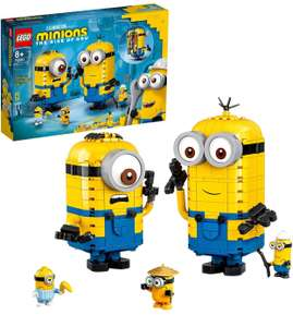 LEGO Minions 75551 Brick-Built Minions and Their Lair Display Models with Stuart, Kevin & Bob Figures £35.99 at Amazon