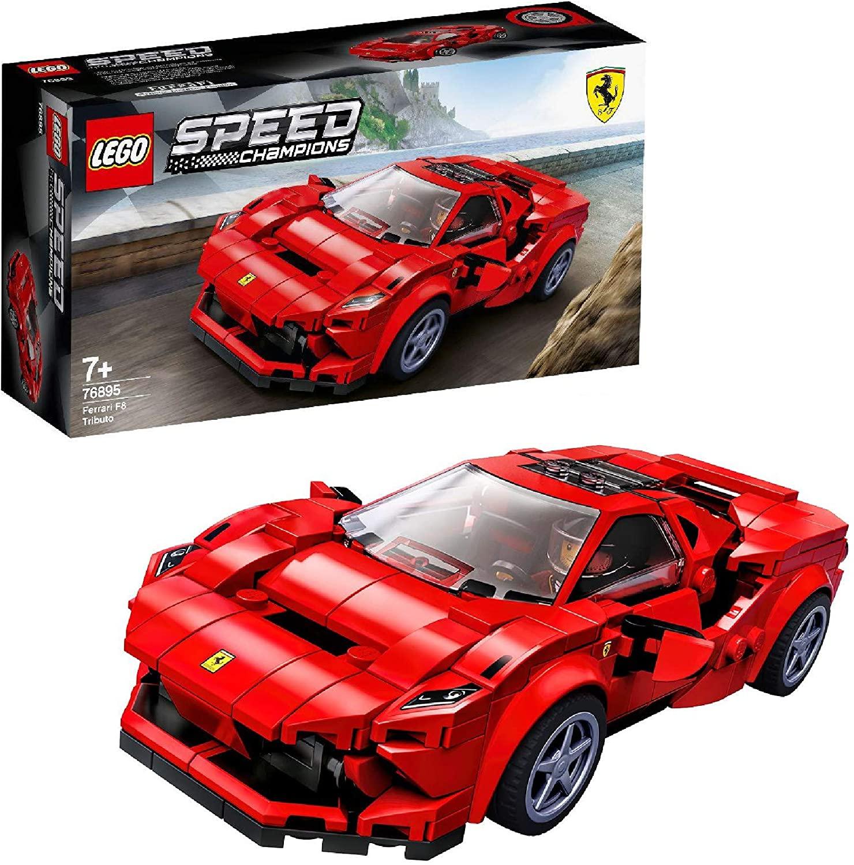 LEGO Speed Champions 76895 Ferrari F8 Tributo - £13.99 / (+£4.49 Non Prime) delivered @ Amazon