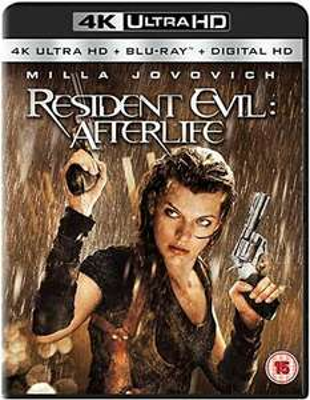 Resident Evil - Afterlife 4K Ultra HD + Blu-ray + Digital HD £5.89 delivered @ josh-media / ebay