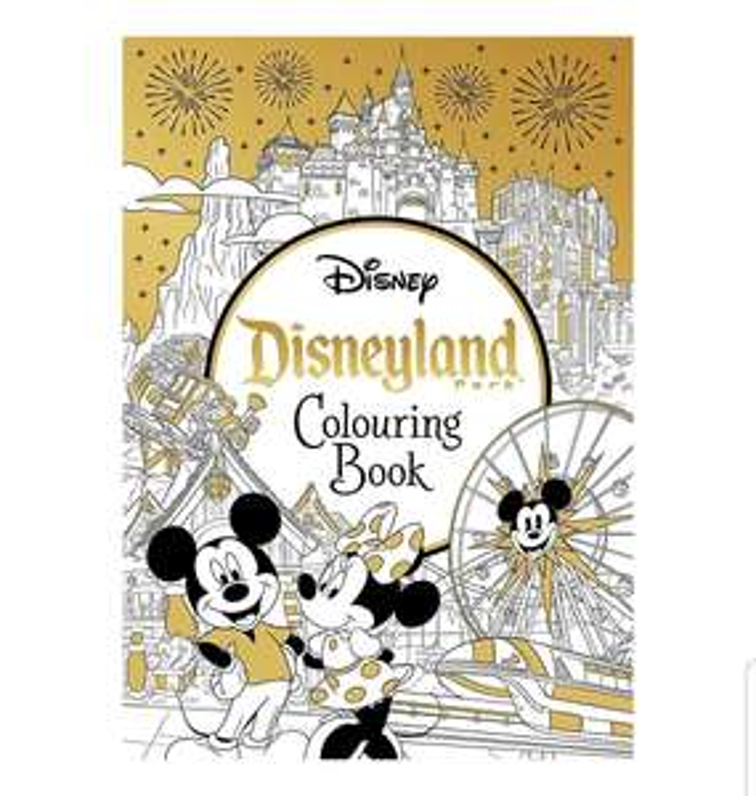Disneyland Parks Colouring Book £4 prime / £6.99 nonPrime @ Amazon