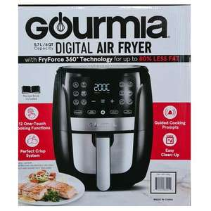 Gourmia 5.7L Digital Air Fryer £49.99 @ Costco