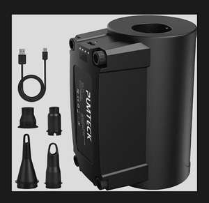 Pumteck Rechargeable Electric Pump £11.39 prime (+£4.49 nonPrime) Sold by LETION-UK and Fulfilled by Amazon.