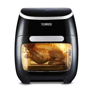 Tower T17039 Vortx 5-in-1 Digital Air Fryer Oven with Rapid Air Circulation, 60-Minute Timer, 11L, 2000W, Black - £89 @ Amazon