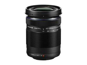 Olympus M.ZUIKO DIGITAL ED 40-150mm f/4-5.6R Camera Lens Black £89.00 @ HDEW Cameras