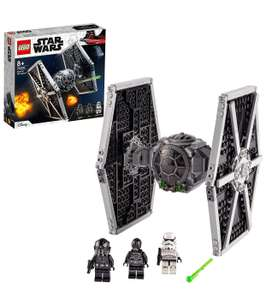 LEGO Star Wars 75300 Imperial TIE Fighter Toy with Stormtrooper and Pilot Minifigures - £29.99 at Amazon