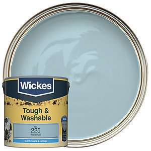 Wickes Tough & Washable Matt Emulsion Paint (Various Colours) - 2.5L now £12 (Click & Collect) @ Wickes