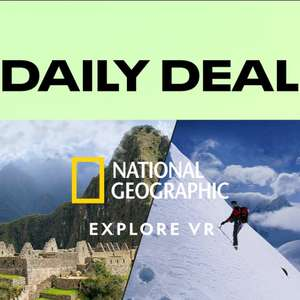 Oculus Daily Deal: National Geographic Explore VR - £4.99