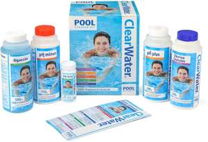Clearwater CH0017 Pool Chemical Starter Kit for Above Ground Pool and Paddling Pool Water Treatment - £20.49 @ Amazon