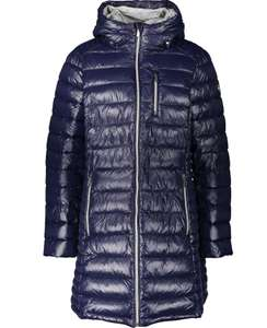MICHAEL KORS True Navy Long Women's Puffer Coat for £32 at TK Maxx + £1.99 click & collect or £3.99 delivered