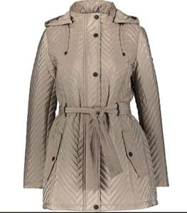 DKNY Cream Quilted Women's Coat £28 at TK Maxx + £1.99 click & collect or £3.99 delivered