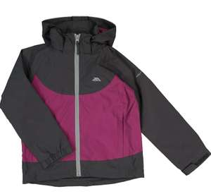 TRESPASS Purple & Grey Kids Rain Coat £14.99 at TK Maxx + £1.99 click & collect or £3.99 delivery