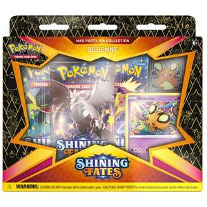 Pokémon Trading Card Game Shining Fates Mad Party Pin Collection (Assortment) £15.99 delivered @ Smyths