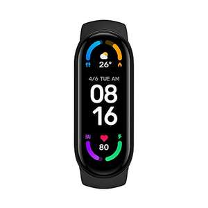 """Xiaomi Mi Smart Band 6 - 1.56"""" AMOLED Display, SpO2 tracking, 5ATM water resistance - £42.99 (UK Mainland delivery) @ Amazon Italy"""