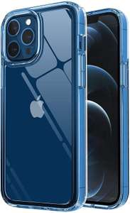 ISOUL Crystal Clear Case for iPhone 12 Pro Max £2.95 Prime + £4.49 non prime sold by TradeNRG and Fulfilled by Amazon