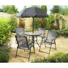 Textilene Garden Set with Folding Chairs 6 Piece - ONLY £59.99 / 4% Quidco @ Wikinsons