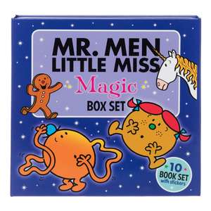 Mr. Men Little Miss Magic 10 Book Box Set - £8 + £2.99 Delivery @ WH Smith