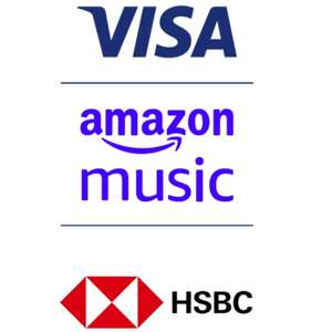 4 months Free Amazon Music Unlimited (New subscribers) at no extra cost for Visa Customers @ HSBC
