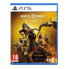 Mortal Kombat 11 Ultimate £24.95 PS5/PS4/Series X/XBOX One £24.95 @ The Gamery