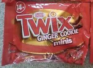 303G TWIX GINGER COOKIES MINIS 99p each or 2 for £1 Farmfoods sutton
