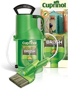 cuprinol 6133940 Spray & Brush Pump MPSB 2-in-1 Shed and Fence Paint Sprayer, Green - £23.95 Delivered @ Amazon
