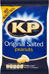 KP Original Salted/Dry Roasted Peanuts 415g Packs are 99p @ Farmfoods (Bury)