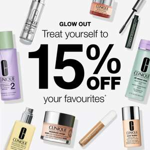 15% Off Clinique Bestsellers + 3 Free Deluxe Samples on £45 spend using code + Free Delivery on all orders @ Clinique