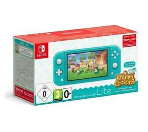 Switch Lite Turquoise & Animal Crossing: New Horizons £189.05 delivered (UK Mainland) @ Currys eBay