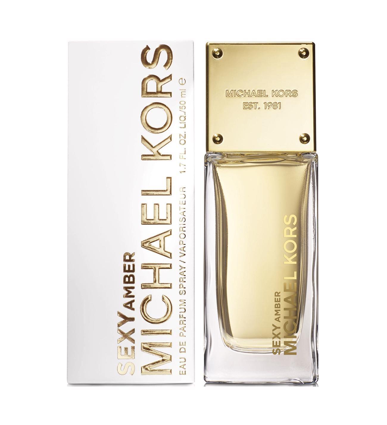 Michael Kors Sexy Amber Eau De Parfum 50ml + Free Michael Kors Card Case £29.99 delivered (members discount) @ The Perfume Shop