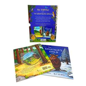 The Gruffalo and The Gruffalo's Child book set collection with Audio CD slipcase £10.98 delivered at LoxPlexBooks