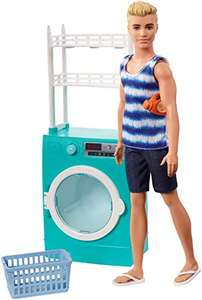 BARBIE FYK52 KEN Laundry Themed Playset with Ken Doll and Spinning Washer/Dryer £16.81 + £4.49 NP (UK Mainland) Sold by Amazon EU @ Amazon